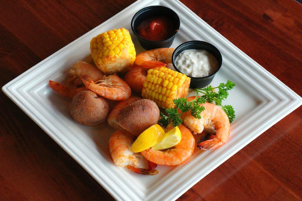 peppered jumbo shrimp