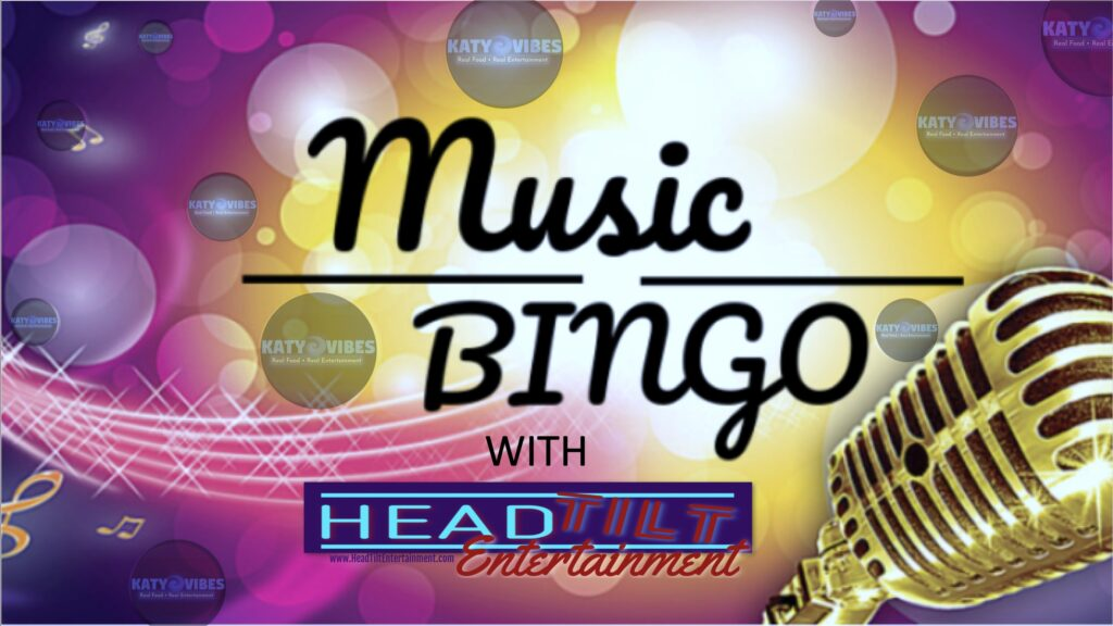 Music Bingo at Katy Vibes
